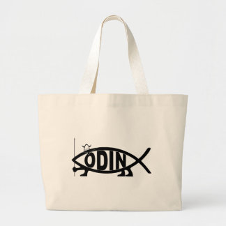 Odin Fish Large Tote Bag
