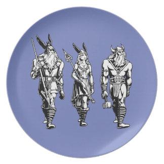 Odin, Freyja & Thor Plate