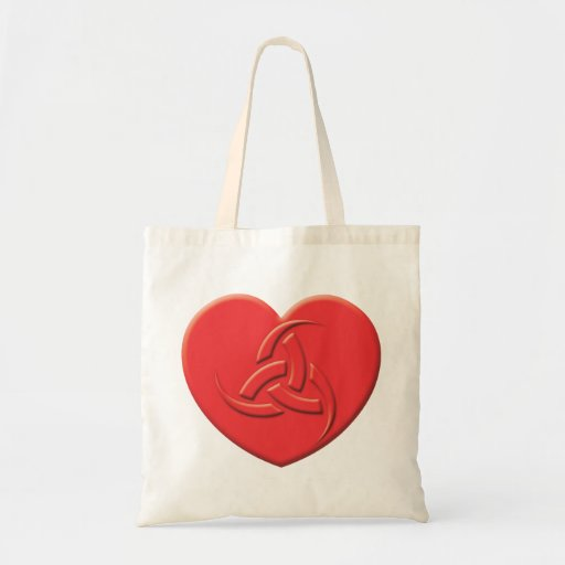 Odin Heart Tote Bags