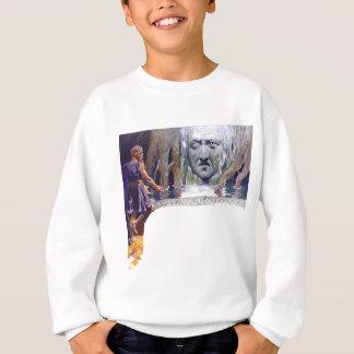 Odin in front of Mimir Sweatshirt