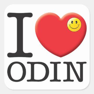 Odin Love Square Sticker