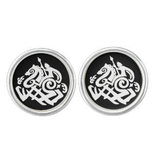 Odin on Sleipnir Cufflinks