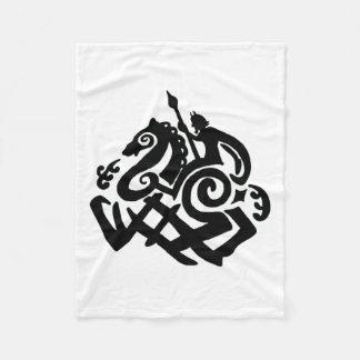 Odin Riding Sleipnir Blanket