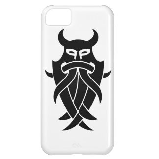 Odin s Mask Tribal black Cover For iPhone 5C
