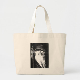Odin The Wanderer Tote Bags