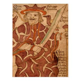Odinn Postcard