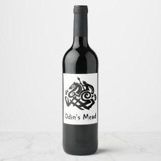 Odin's Mead Wine Label