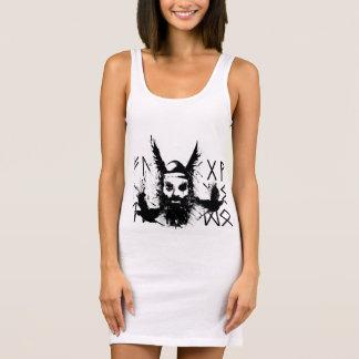 Odins Raven Charm Slim Dress