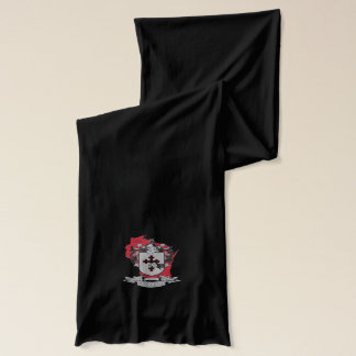 O'Donnell Black Jersey Scarf