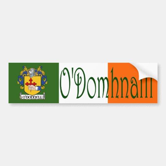 O'Donnell Clan Irish/English Bumper Sticker