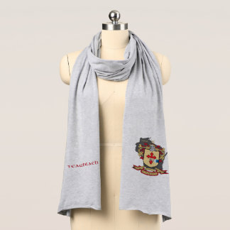 O'Donnell Heather Grey Jersey Scarf