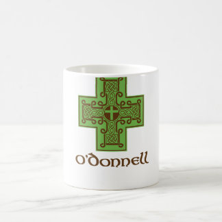 O'Donnell Logo Green and Brown Coffee Mug