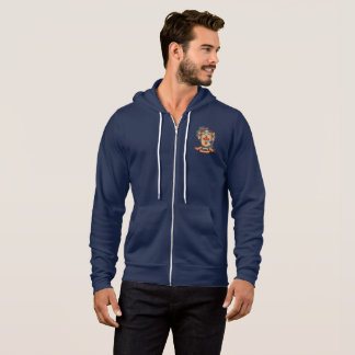 O'Donnell Men's Bella+Canvas Full-Zip Hoodie