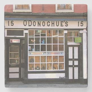 O'Donoghue's Pub, Dublin, Irish Coaster. Stone Coaster