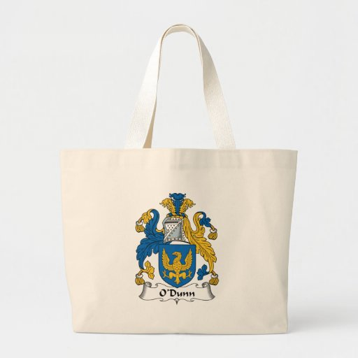 O'Dunn Family Crest Tote Bags