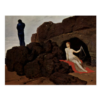 Odysseus And Calypso Postcard
