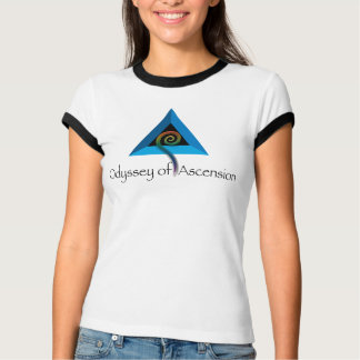 Odyssey of Ascension - White/Black Cuff T-Shirt