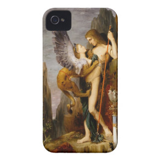 oedipus and the sphinx iPhone 4 covers