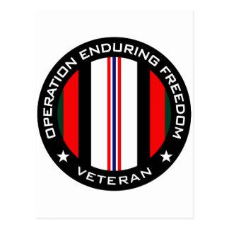 OEF Veteran Postcard