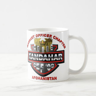 OEF Warrant Officer Coffee Mug