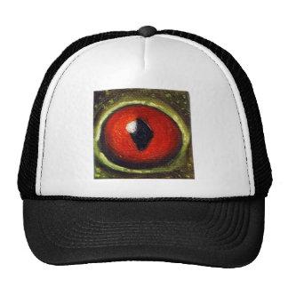 Oeil de grenouille agrandi casquette de camionneur