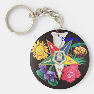 OES Blooming Star Keychain