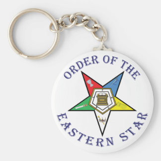 OES LETTERED KEY CHAIN