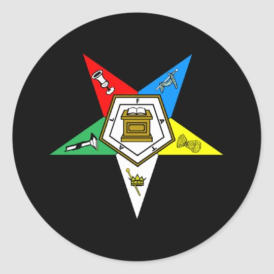 OES Order of Eastern Star Sticker