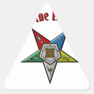 oes triangle sticker
