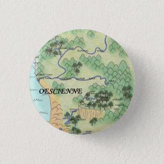 Oescienne Map 1 Inch Round Button