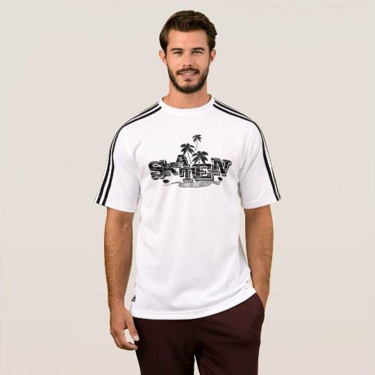 Of Adidas skater shirt in Weis for men