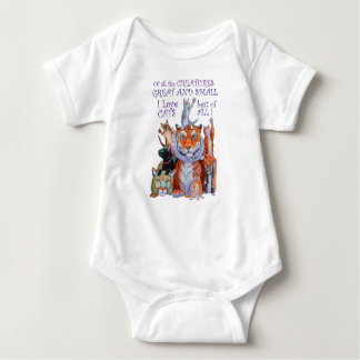 Of All the Creatures Great and Small Baby Bodysuit