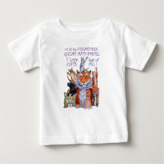 Of All the Creatures Great and Small Baby T-Shirt
