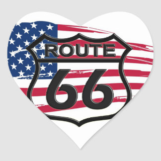 Of America route 66 Stickers
