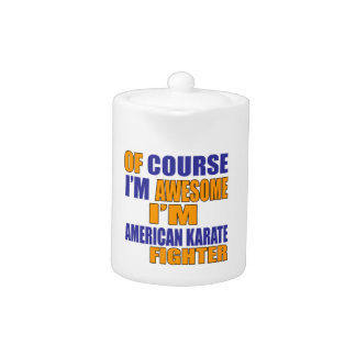 Of Course I Am American Karate Fighter