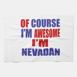 Of Course I Am Awesome I Am Nevadan Hand Towel