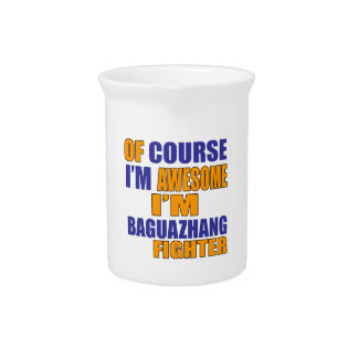 Of Course I Am Baguazhang Fighter Pitcher