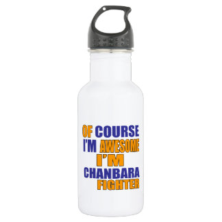 Of Course I Am Chanbara Fighter 532 Ml Water Bottle