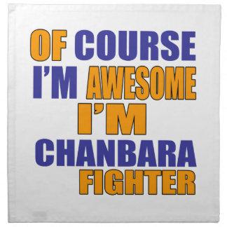 Of Course I Am Chanbara Fighter Napkin
