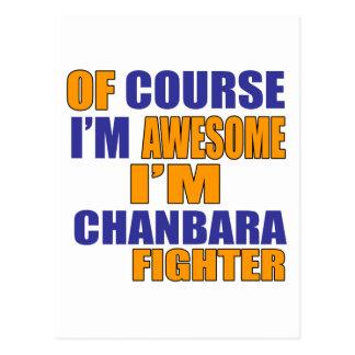 Of Course I Am Chanbara Fighter Postcard