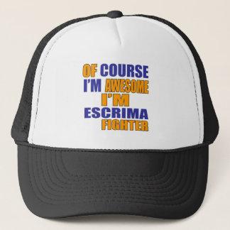 Of Course I Am Escrima Fighter Trucker Hat