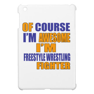 Of Course I Am Freestyle Wrestling Fighter Case For The iPad Mini