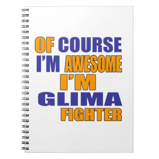 Of Course I Am Glima Fighter Notebooks