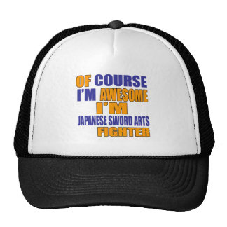 Of Course I Am Japanese Sword Arts Fighter Trucker Hat