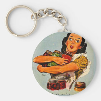 Of Course I Can! Vintage Retro World War II Keychains