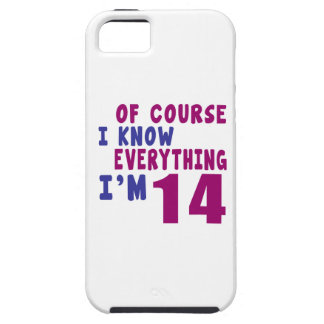Of Course I Know Everything I Am 14 iPhone 5 Cover