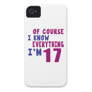 Of Course I Know Everything I Am 17 iPhone 4 Case-Mate Cases