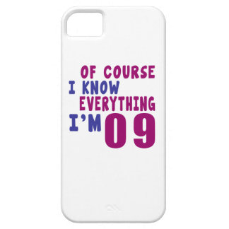 Of Course I Know Everything I Am 9 iPhone 5 Covers