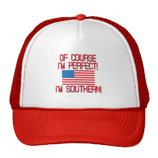 Of Course I m Perfect I m Southern Mesh Hat