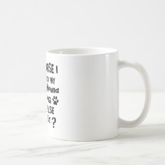 Of Course I Talk To My Afghan Hound Dog Designs Coffee Mug